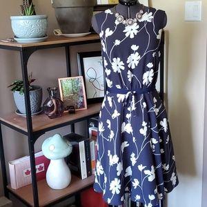 Brooks Brothers Floral A-Line Dress